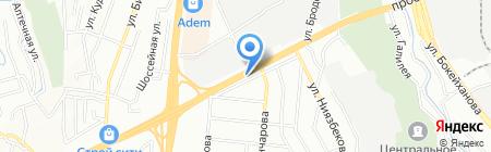 PIT STOP на карте Алматы