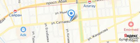 Lex Alliance на карте Алматы