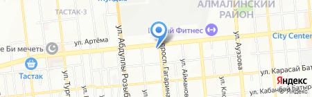 Wamboo на карте Алматы