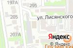 Схема проезда до компании Феникс Клуб в Алматы