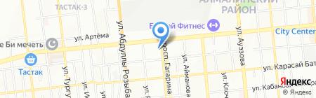 Медицинский консультационный центр на карте Алматы