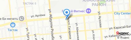 Психотерапевтический центр доктора Хлыновского В.М. на карте Алматы