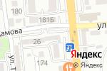 Схема проезда до компании Aktion Group в Алматы