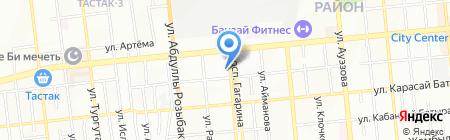 Stivali магазин обуви и сумок на карте Алматы