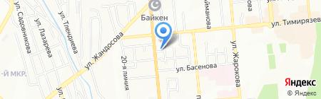 CBW на карте Алматы