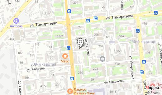 Югсантехмонтаж Строй ТОО. Схема проезда в Алматы