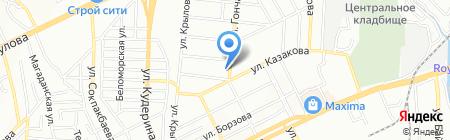 КазСпецТрансСити на карте Алматы