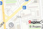 Схема проезда до компании Anika в Алматы