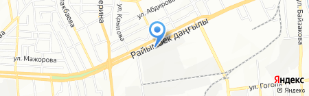 Reis Carpet на карте Алматы