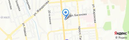 Алматы Шина на карте Алматы