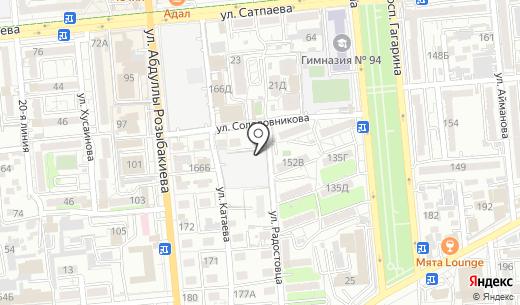 ТрансКомплексСервис Экспресс. Схема проезда в Алматы