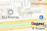 Схема проезда до компании Институт сертифицированных финансовых менеджеров Казахстана в Алматы