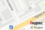 Схема проезда до компании Тау Логистик Way в Алматы