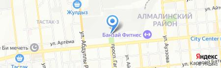 ЭНЭЛТ Центральная Азия на карте Алматы