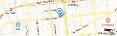 CAPITAL на карте Алматы