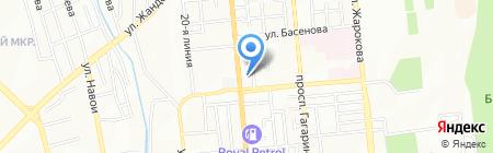 Участковый пункт полиции №48 Бостандыкского района на карте Алматы