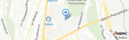 НЕФТЕТРАНССТРОЙ & K на карте Алматы