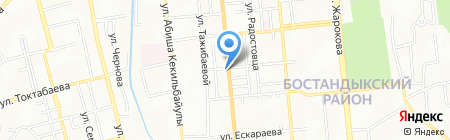 Mobil на карте Алматы