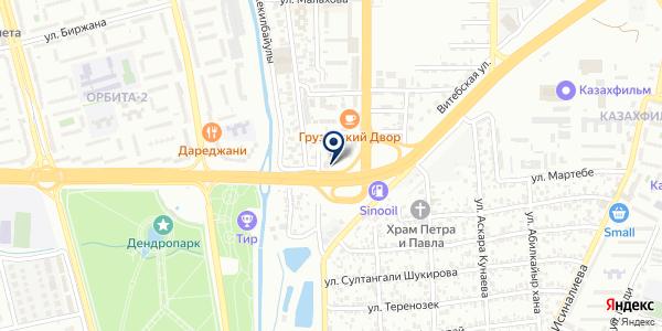 Fit&Dance на карте Алматы