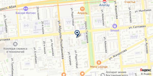 EIVA на карте Алматы