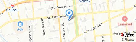 Ар-Маркет на карте Алматы