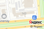 Схема проезда до компании FLOORS в Алматы