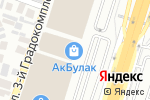 Схема проезда до компании Made in Korea в Алматы