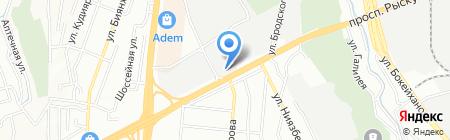 Тау Логистик Way на карте Алматы