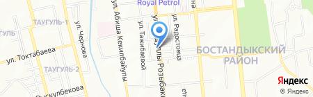 Баймыш ТОО на карте Алматы