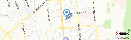 KAZ Центр Строй Almaty Project на карте Алматы