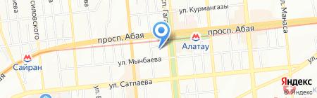 НадежностьЭнергоЭксперт на карте Алматы