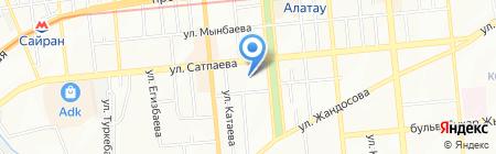 Геостройизыскания на карте Алматы