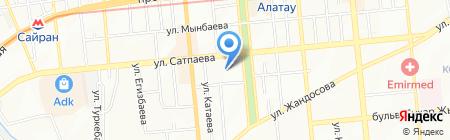 Adamant Group на карте Алматы