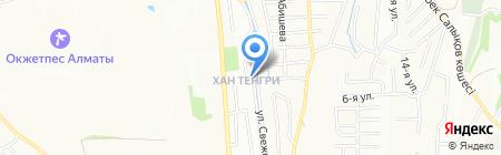 ST Invest на карте Алматы