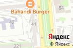 Схема проезда до компании Sowon в Алматы