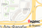 Схема проезда до компании Alma Flat Rent в Алматы