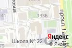 Схема проезда до компании ИнтеллектУМ в Алматы
