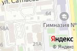 Схема проезда до компании Пчёлка в Алматы