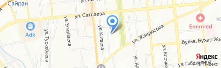 1СФранчайзинг Ваниев на карте Алматы