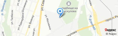 Проект Телефон Строй Казахстан на карте Алматы