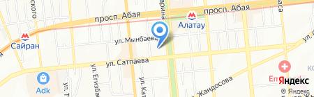 Димед на карте Алматы
