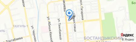 Магазин мясной продукции на ул. Розыбакиева на карте Алматы