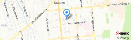 ASPASIA на карте Алматы