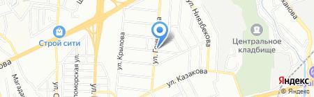 Каракоз на карте Алматы