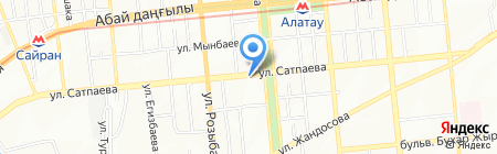 Portex Media на карте Алматы