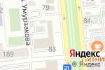 Схема проезда до компании Professional в Алматы