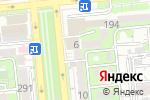 Схема проезда до компании New York Style в Алматы
