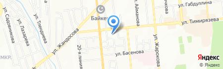 БН Азия Альянс на карте Алматы