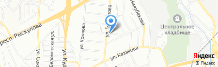 Бектем Сервис на карте Алматы