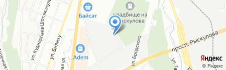 ERGOPACK на карте Алматы